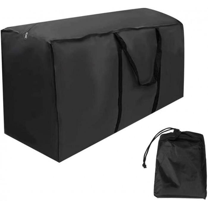 sac de rangement pour coussins de meubles de jardin, iimperméable, étanche à la poussière, anti-uv, robuste tissu oxford 210d housse
