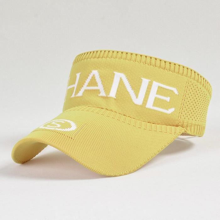 Chapeau de soleil K32 pour femmes, casquette de Tennis, Baseball, Long avant, tricoté, sport, cyclisme, vide, offre [7AF956E]