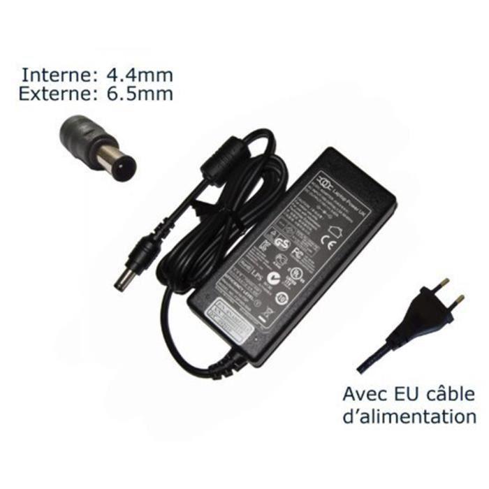 AC Adaptateur secteur pour Sony Vaio VGN-FE48C VGN-FE48E VGN-FE48G H VGN-FE48M VGN-FE50B chargeur ordinateur portable, adaptateur