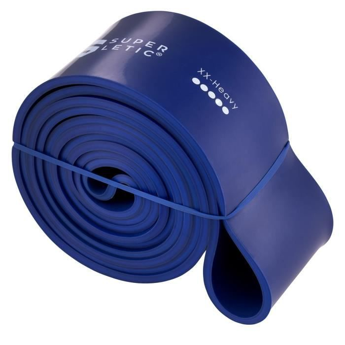 Bande de Fitness elastique - Capital Sports - Sac de sport inclu - 100% Latex