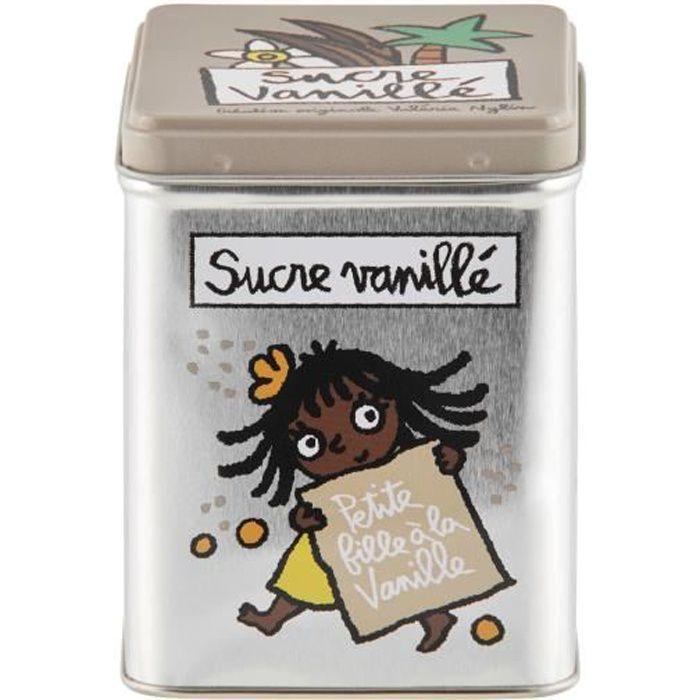 Boite Sucre Vanillé Sachets Cuisine Rangement Dlp Derrière La Porte