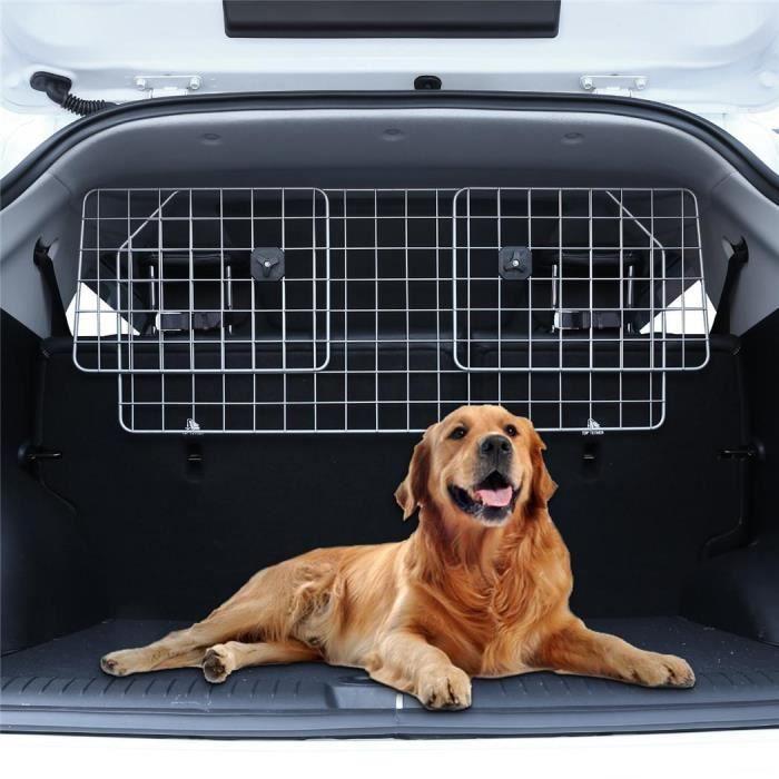 Grille de séparation de voiture réglable pour chien animaux de compagnie