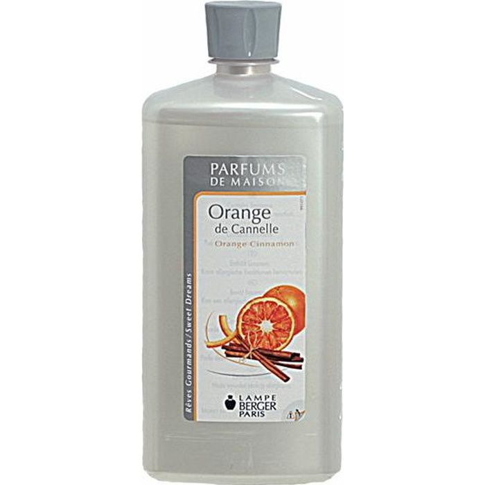 Lampe Berger parfum orange de cannelle 1 litre