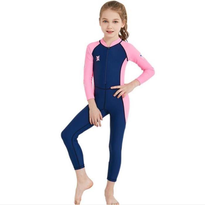 AVANC Enfants Combinaison de Plongée Longues Confort Nylon Humide Costume Soleil Bloc chaud Snorkeling Plongée Costume