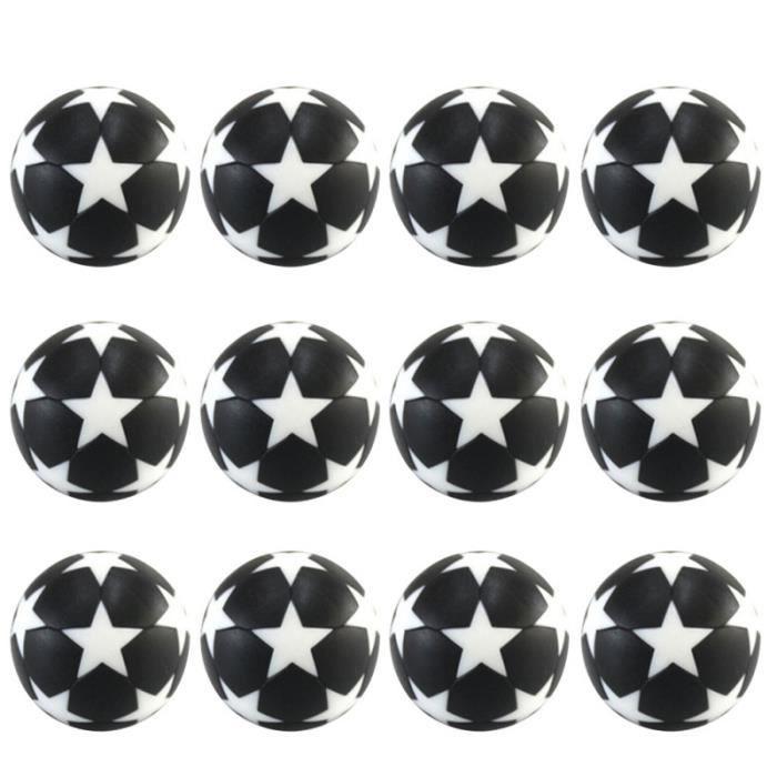 12pcs ballons jeu de football accessoire robuste portable durable pour l'extérieur BALLON DE FOOTBALL