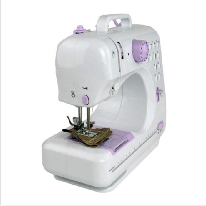 machine à coudre singer, lampe électrique domestique, facile à utiliser à la maison ou en voyage, blanc