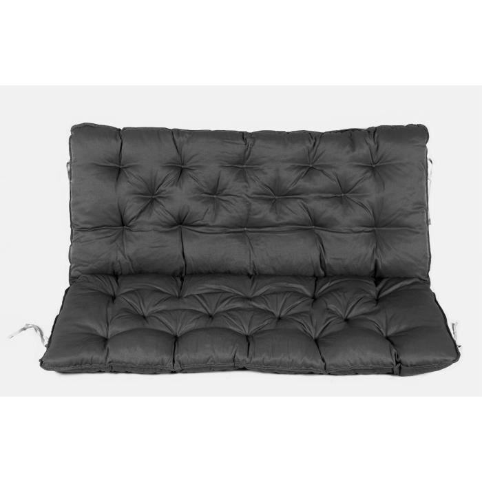 coussin haut dossier pour de banc de jardin 2 si ges ca. Black Bedroom Furniture Sets. Home Design Ideas