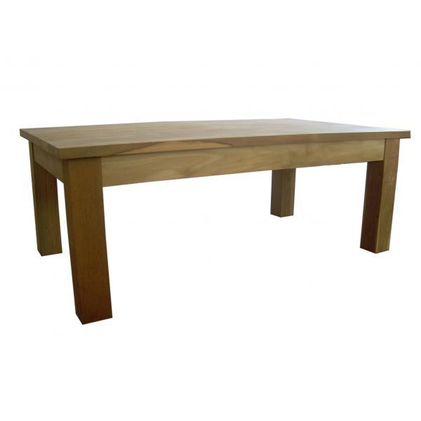 Table basse en teck recycl palwa achat vente table - Table en teck recycle ...