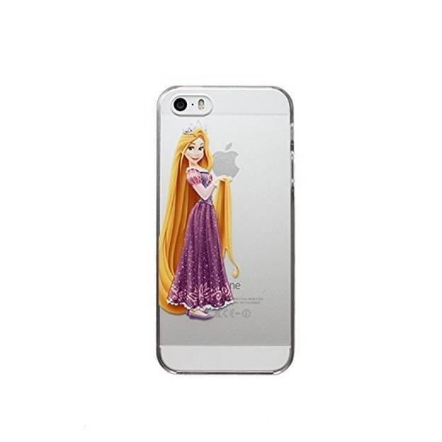 coque rigide transparente iphone 6 6s princesse raiponce achat coque bumper pas cher avis. Black Bedroom Furniture Sets. Home Design Ideas