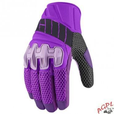 5200c2be05a GANTS ICON FEMME OVERLORD MESH-VIOLET-L-33020408 - Achat   Vente ...