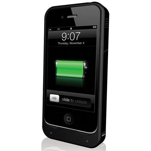 coque batterie led pour iphone 4s noir 1900 mah achat coque bumper pas cher avis et. Black Bedroom Furniture Sets. Home Design Ideas