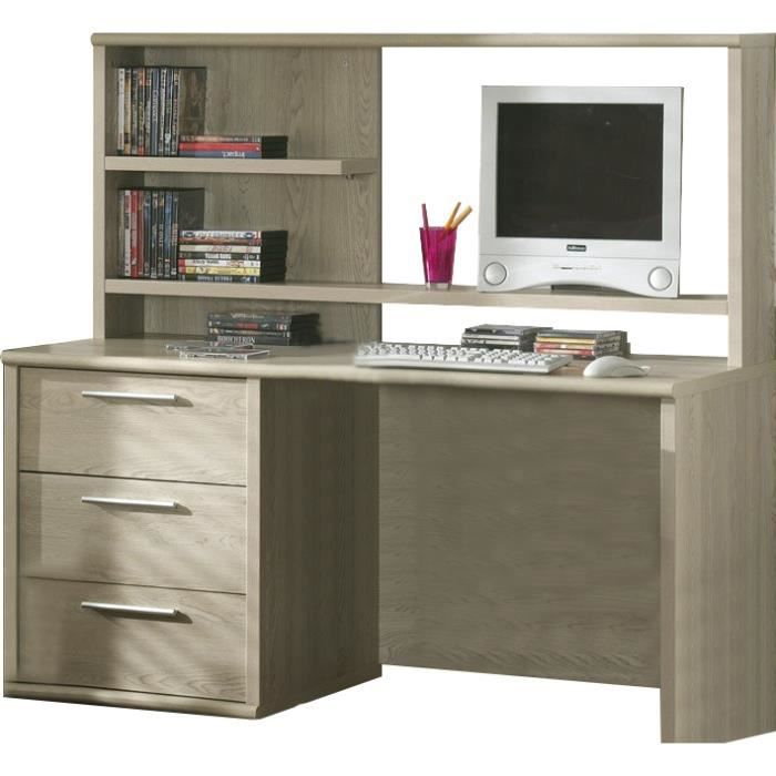 bureau fonctionnel pour enfant coloris ch ne d 39 hiver achat vente bureau bureau fonctionnel. Black Bedroom Furniture Sets. Home Design Ideas