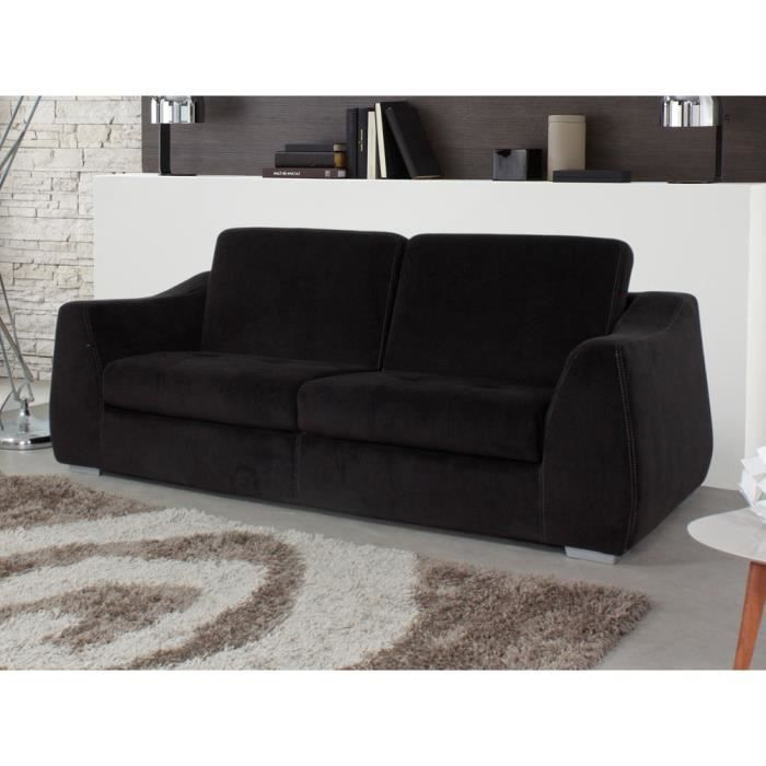 Canap convertible floride couchage 140 x 190 cm achat vente canap so - Mousse assise canape ...