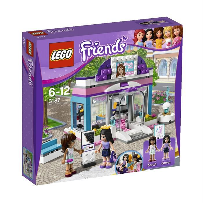 Lego friends le salon de beaut papillon achat vente assemblage construction cdiscount - Salon de coiffure lego friends ...