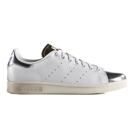 Adidas Stan Smith Blanche Argent