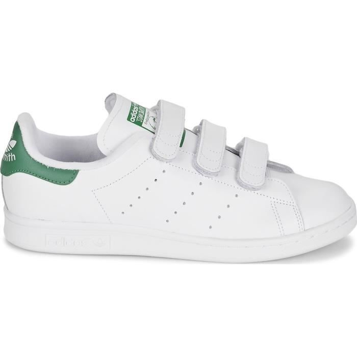 BASKET ADIDAS ORIGINALS Baskets Stan Smith - Homme - Blan
