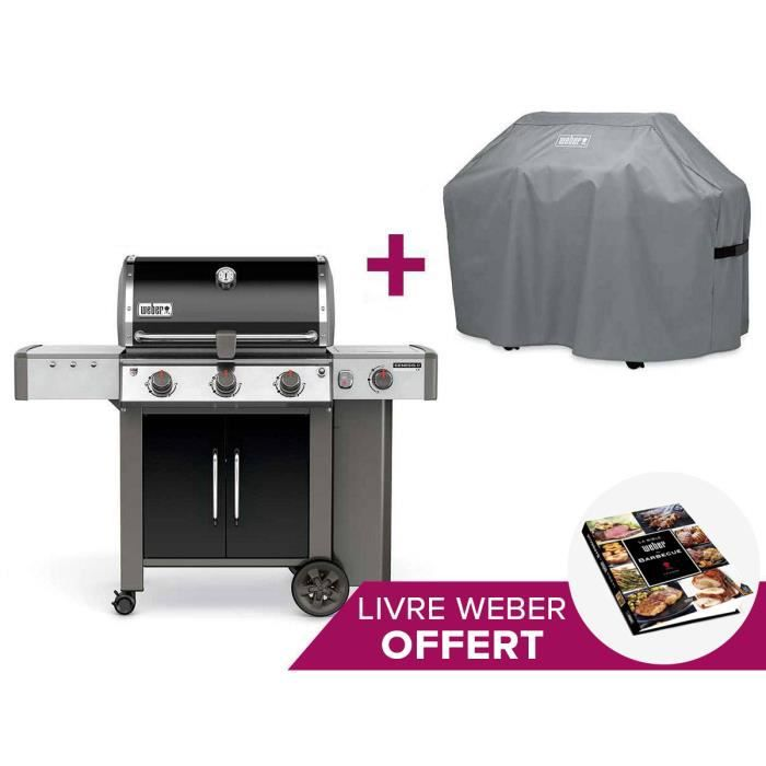 barbecue weber genesis ii lx e 340 gbs housse achat. Black Bedroom Furniture Sets. Home Design Ideas