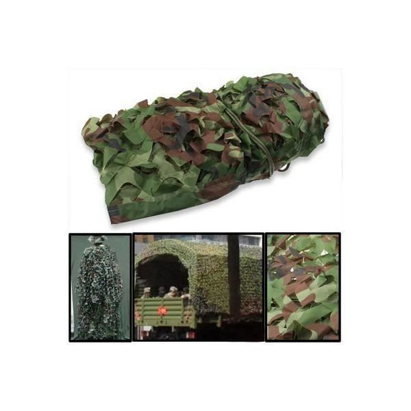 Filet de camouflage militaire 2 x 3 m tres for t jungle - Filet de camouflage pas cher ...