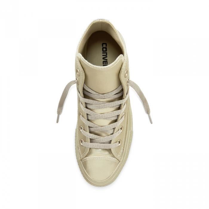 Chaussures All Star Hi Liquid Metallic Gold W h17 - Converse YMddTgP