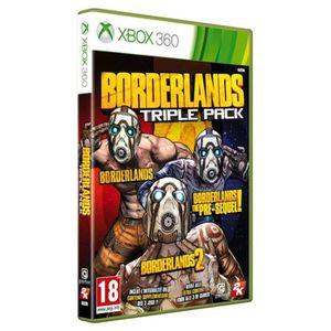 JEU XBOX 360 Borderlands Triple Pack X360