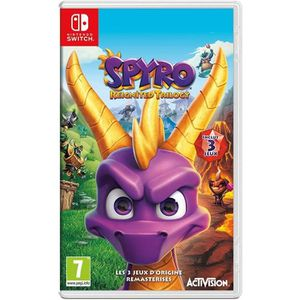 JEU NINTENDO SWITCH Spyro Reignited Trilogy Jeu Switch + 1 Porte Clé