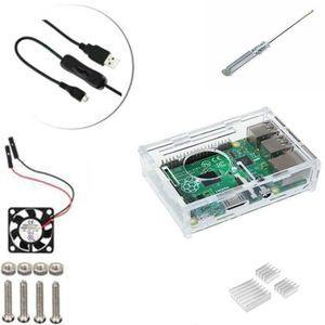 CARTE MÈRE 5 en 1 Kit Professionnel Pour Raspberry Pi 3 & 2 B