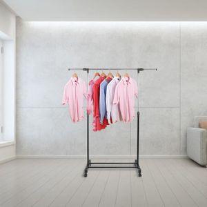 PENDERIE MOBILE Firnose Portant pour vêtements Penderie à Vêtement