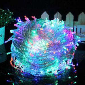 GUIRLANDE DE NOËL multicolore 20 metres 200 LEDs guirlande noel lumi