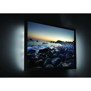 bande led pour tv achat vente bande led pour tv pas cher cdiscount. Black Bedroom Furniture Sets. Home Design Ideas