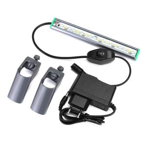 AQUARIUM GREENH 20cm Lampe aquarium 18led éclairage de pois