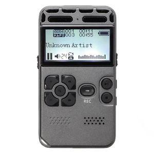 LECTEUR MP3 64G Rechargeable LCD Numerique Audio Audio Enregis