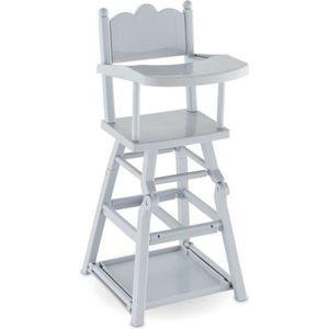 POUPON Mobilier pour mon grand poupon 36 cm : Chaise haut