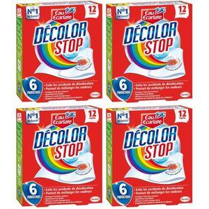 ANTI-DECOLORATION DECOLOR STOP Set de 12 Lingettes Anti-décoloration