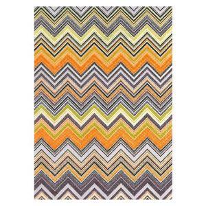 Kit papier créatif Feuille decopatch n°606 Chevrons multicolores, Pap