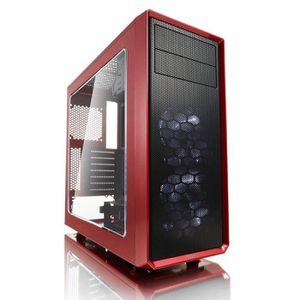 BOITIER PC  FRACTAL DESIGN Boitier PC Focus G - Red Window