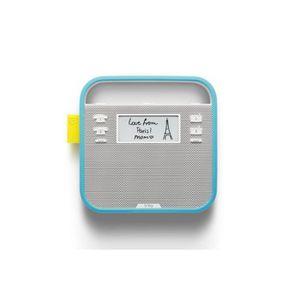ENCEINTE NOMADE Triby (Bleu) : Haut-parleur connecté pour la cuisi