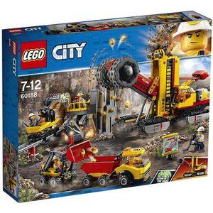 ASSEMBLAGE CONSTRUCTION LEGO® City 60188 Le site d'exploration minier