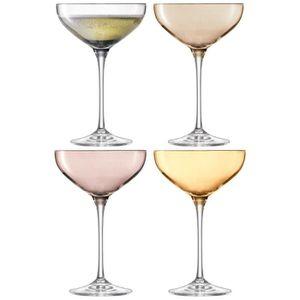 cristaleria de qualit/é 6/X 20 Motif r/étro homevibes lot de 6/coupes de Champagne//cave Couleur Ciel