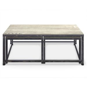 Table basse gigogne cottage achat vente table basse table basse gigogne c - Tables basses cdiscount ...