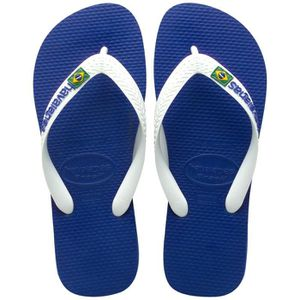 TONG Tongs homme HAVAIANAS brasil logo azul naval ma...