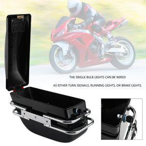 TOP CASE 2 PCS sacoche moto durable valise rangement boite