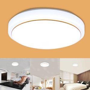 PLAFONNIER 30W Plafonnier à LED Moderne lampe plafond Blanc S