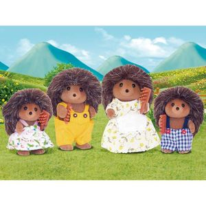 FIGURINE - PERSONNAGE SYLVANIAN FAMILIES 4018 Famille Herisson
