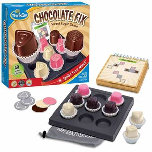 JEU D'APPRENTISSAGE Thinkfun Jeu de logique Chocolate Fix 541530