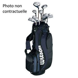 wilson kit complet de golf reflex homme prix pas cher. Black Bedroom Furniture Sets. Home Design Ideas
