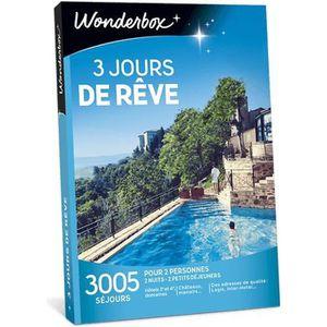 COFFRET SÉJOUR Coffret cadeau - 3 Jours de rêve - Wonderbox - 300