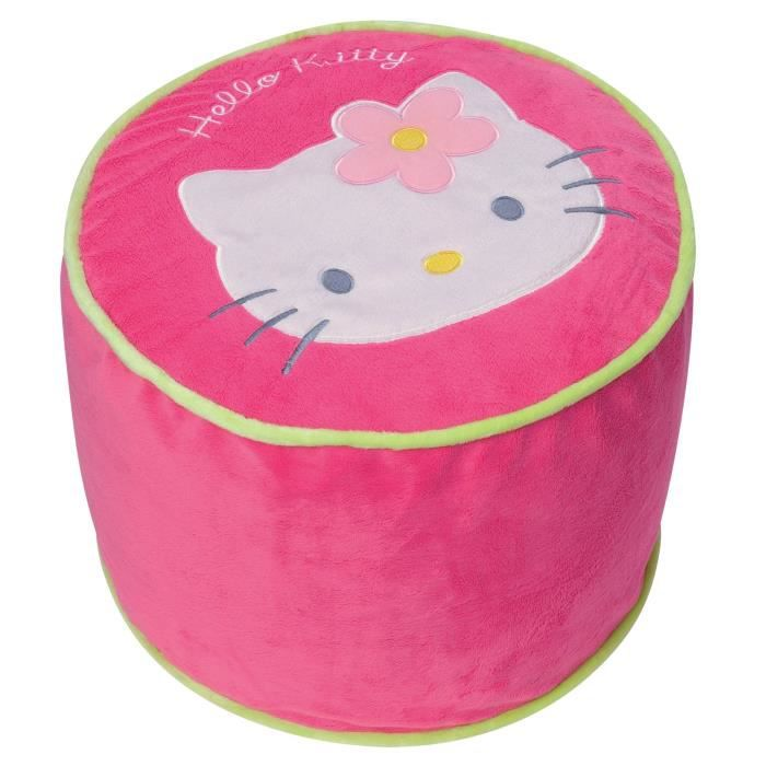 Hello kitty pouf gonflable achat vente chauffeuse for Chauffeuse chambre enfant