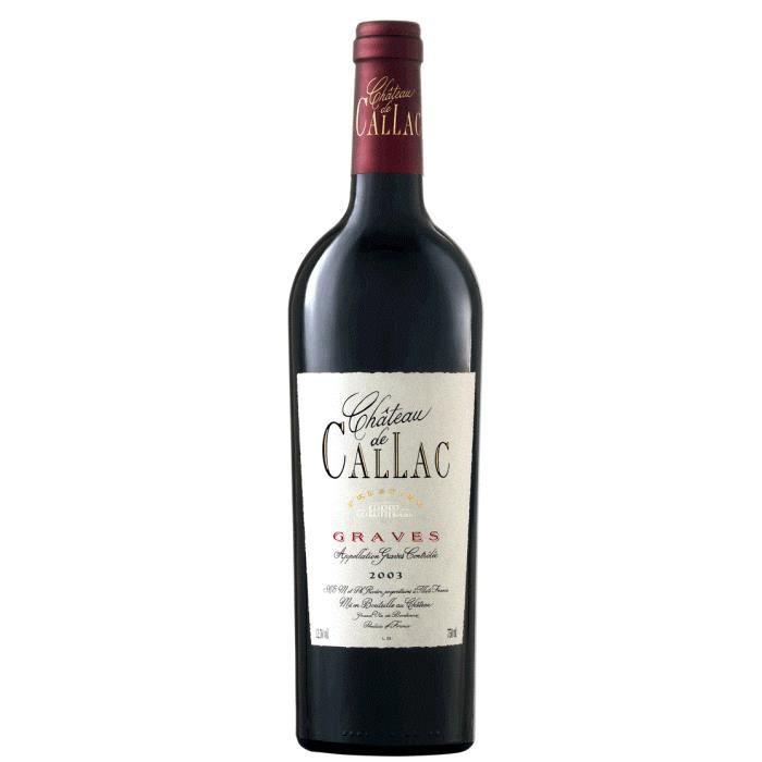 Château de Callac 2013, Cuvée Prestige - Graves Rouge
