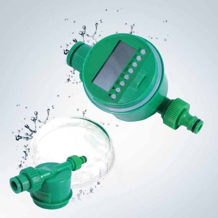 LCD Minuterie Irrigation Programmateur de Jardin Digitale Contrôleur pour Jardin -PAI