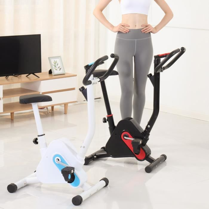 BESPORTBLE Fitness Pedal Spin Bike-Check Time and Number of Revolutions-102x65x41cm-Red and Black